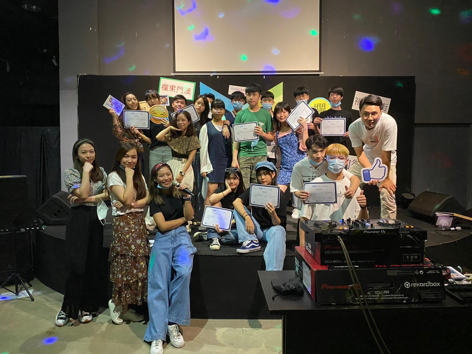 「聖公會 氹仔青年服務隊」「築夢101」–師計劃2020